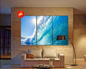 Ocean Wave canvas wall art  Ocean Wave canvas wall art art Ocean Wave wall decoration Ocean Wave large canvas wall art
