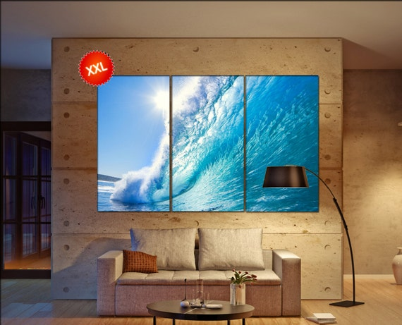 Ocean Wave canvas wall art  Ocean Wave canvas wall art art Ocean Wave wall decoration Ocean Wave large canvas wall art