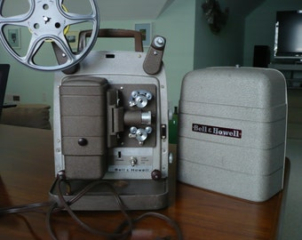 Movie Projector Bell and Howell Model 253 AX