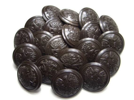 Lot of buttons - military vintage style from TenFifteenBucks on ...