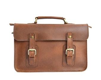 Standard Briefcase, Mens Briefcase, Mens Leather Briefcase, Womens Briefcase, Womens Leather Briefcase, Handmade Leather Briefcase, Satchel