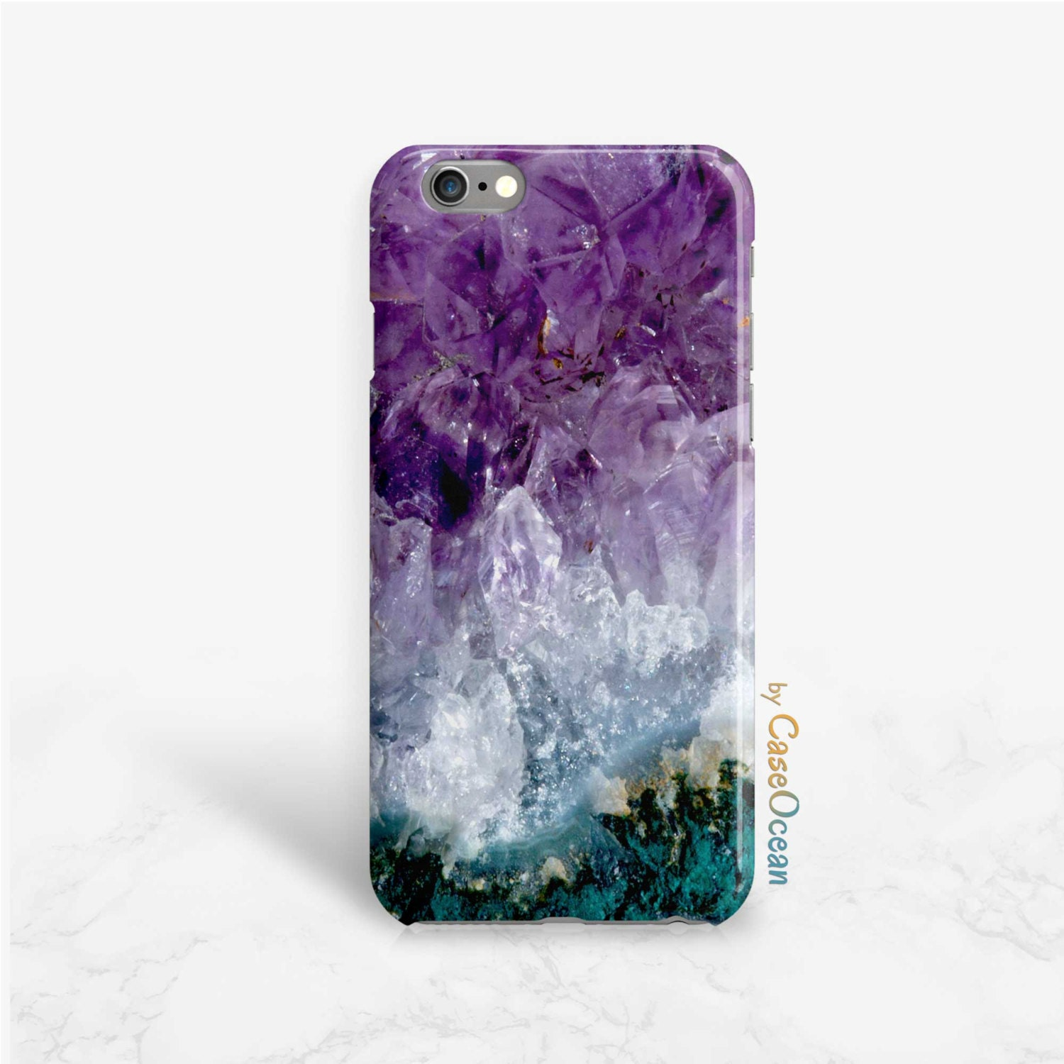Amethyst Crystal Phone Case SE iPhone 5 5s phone case iPhone