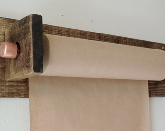 Wall mounted Butcher paper roll