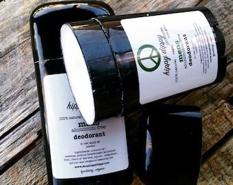 mens organic aluminum-free deodorant