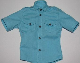 Short sleeve shirt  for  MiniFee boy 40 color available .