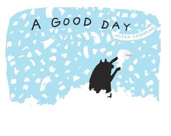 cat book - cat illustrations - cat comics - cat cartoons - black cat book