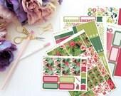 Hafa Adai Horizontal Weekly Kit -- Matte Planner Stickers