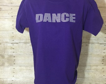 Dance//Shirt // kids // teens //adults // CUSTOM T-SHIRT COLORS //