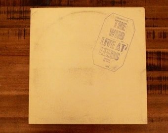1971 The Who Live At Leeds Album With All 12 Album Inserts!/ With Inner Sleeve /DL 79175/ Decca Records