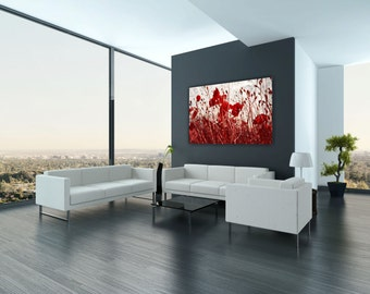 "Canvas ""Poppy Field"""