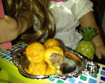 AG Doll Food, Stuffed Potatoes fits American girl doll's, Side Dishes fits American girl, 18 inch Doll Food, Food replica, Party Favor