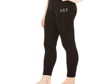 Alpha Sigma Tau Spandex Leggings
