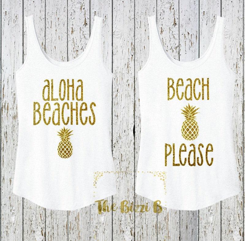 Aloha Beaches Tank