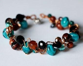 Bracelet moonstone