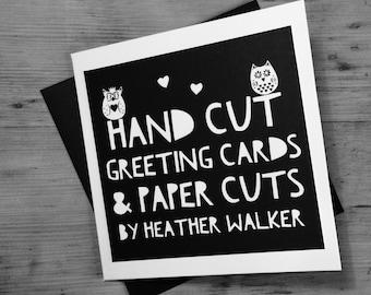 Gift Voucher • Gift Certificate • Hand Cut Gifts