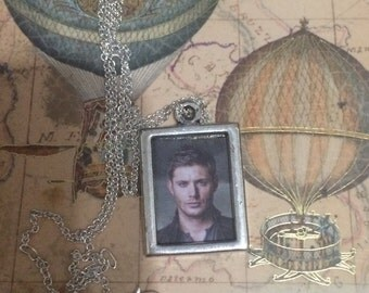 Dean Winchester Pendent Picture Necklace
