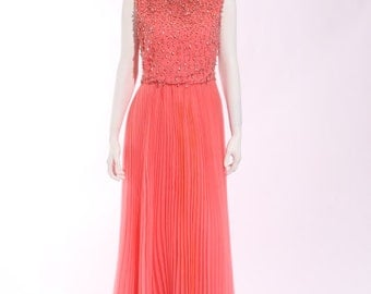 1960s Jack Bryan Evening Gown