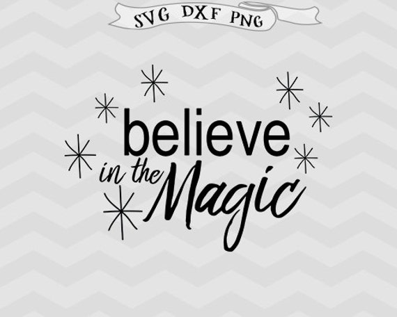 Believe Svg Believe In Magic Svg Christmas Svg Vector File