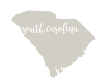 South Carolina Printable