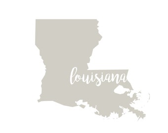 Louisiana Printable
