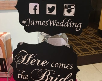 Personalized Wedding or Party signs  for any occassion.