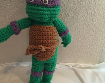 Nija Turtle Crocheted Toy