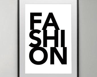 Fashion Wall Decor fashion wall art | etsy