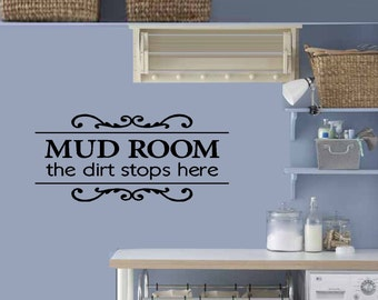 """Mud room 12"""" x 25"""""""