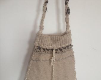 Cute Woollen Handbag