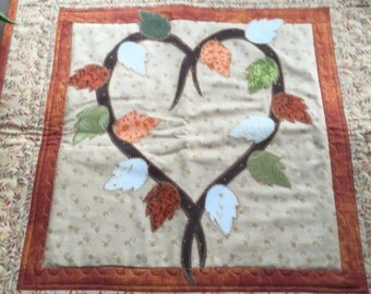 Thanksgiving Table Topper or Wall Hanging