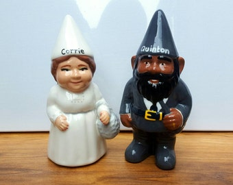 Personalised Ceramic Garden or Indoor Gnome