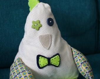 Doudou hen Picotte, decorating child