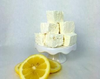 Handmade Gourmet Marshmallows -  Lemon Meringue -  Marshmallow - All Natural