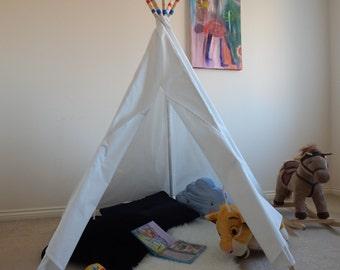 Kids Teepee Play Tent, Teepee Tent, Tipi, Wigwam, Teepee, Teepee for kids, Children's Teepee, Play Tent, Kids