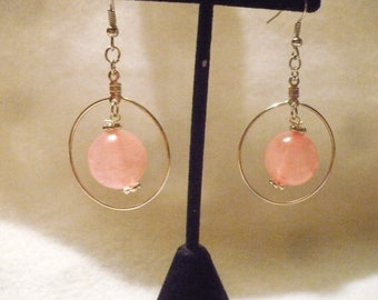 Look into my crystal ball earrings