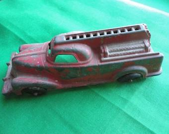 Pre War Manoil Fire Truck