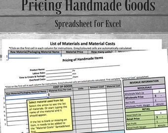 Pricing Your Handmade Goods