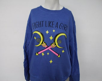 Recycled Fight Like A Girl Sweatshirt
