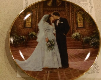 Sandra Ruck - Collector Plate - Reco - The Wedding