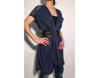 Japanese Top, Trendy Plus Size Clothing, Loose Tunic, V Neck Top, Tunic Dress, Short Dress, Japanese Clothing, Plunging Top, Oversized Top