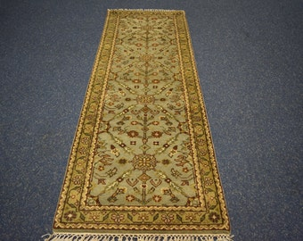 Beautiful Hand knotted Rug runner