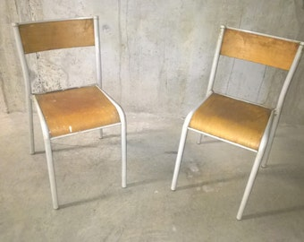 Pair of chairs workshop 50s