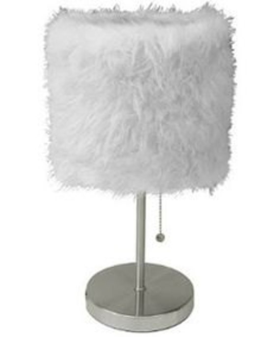 fur lamp shade free shipping. Black Bedroom Furniture Sets. Home Design Ideas
