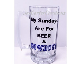 Beer and Football-Beer Mug