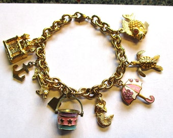 Beach Side Charm Bracelet