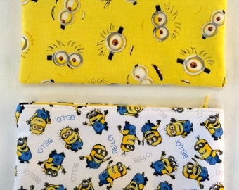 Minion Zippered Pencil Piuch