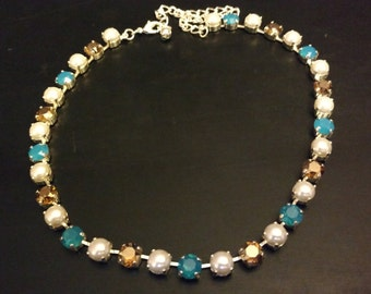33 stone starlet necklace
