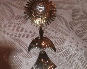 German Silver Pin