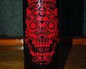 Unique Upcycled Wine Bottle Vase