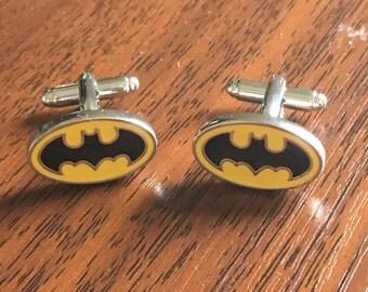 Super Hero gifts - batman jewellery, super hero cufflinks, dark knight, batman cufflink, batman cufflinks